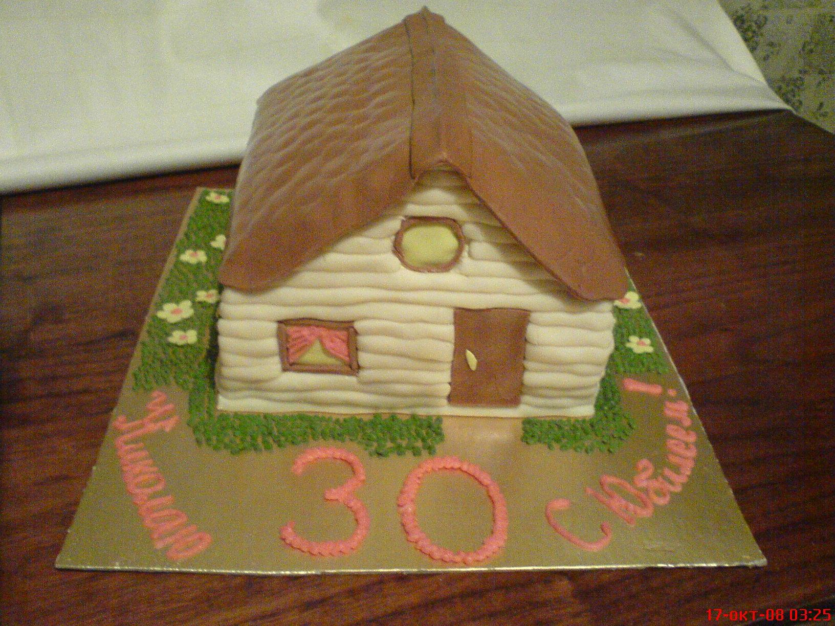 Как сделать дом из мастики 357
